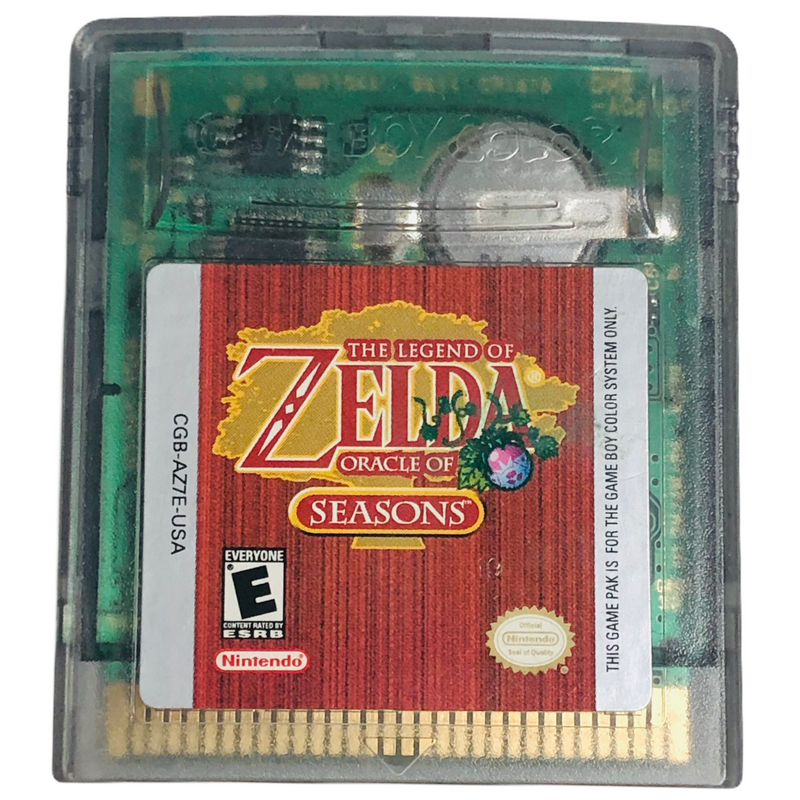 The Legend Of Zelda Oracle Of Seasons Nintendo Game Boy SAVES *AUTHENTIC*