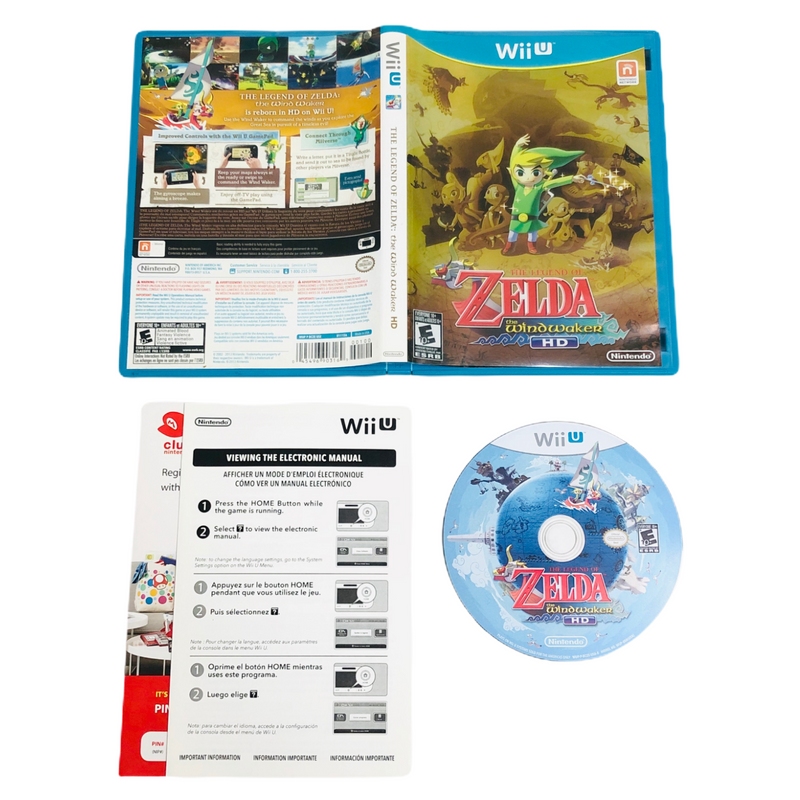 The Legend Of Zelda The Wind Waker HD Gold Foil Nintendo Wii U