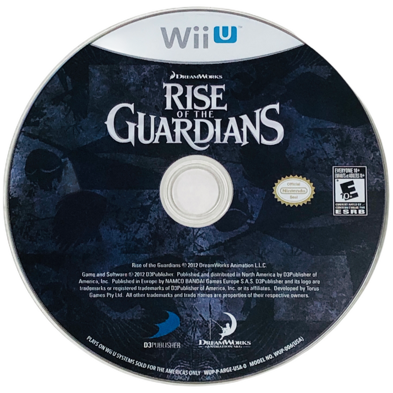 Rise Of The Guardians Nintendo Wii U