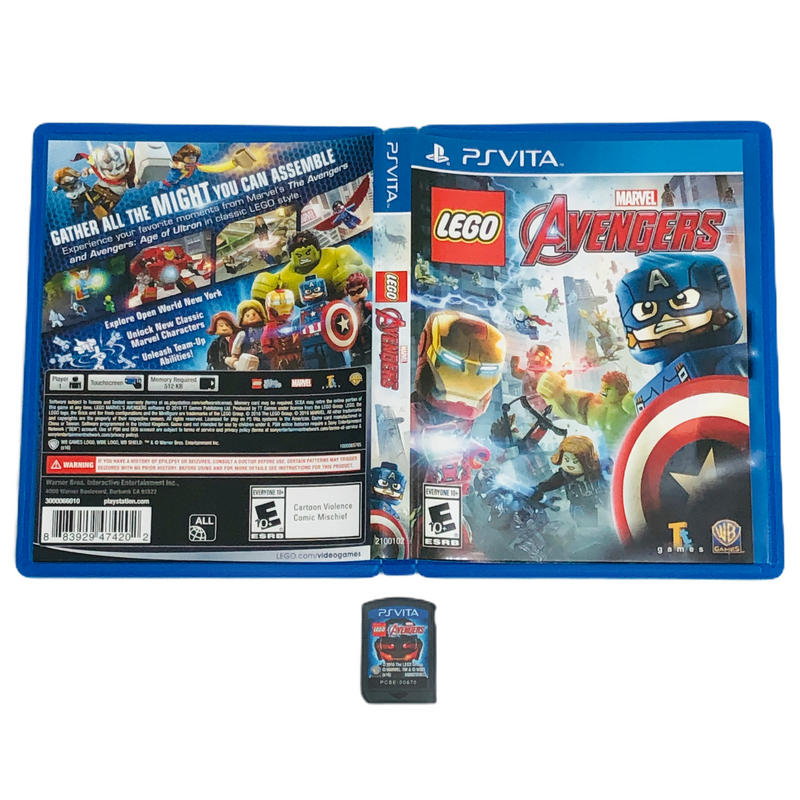 Lego Marvel Avengers Sony Playstation Vita PS Vita