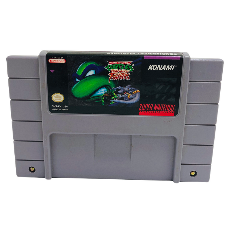 Teenage Mutant Ninja Turtles TMNT Tournament Fighters Super Nintendo SNES