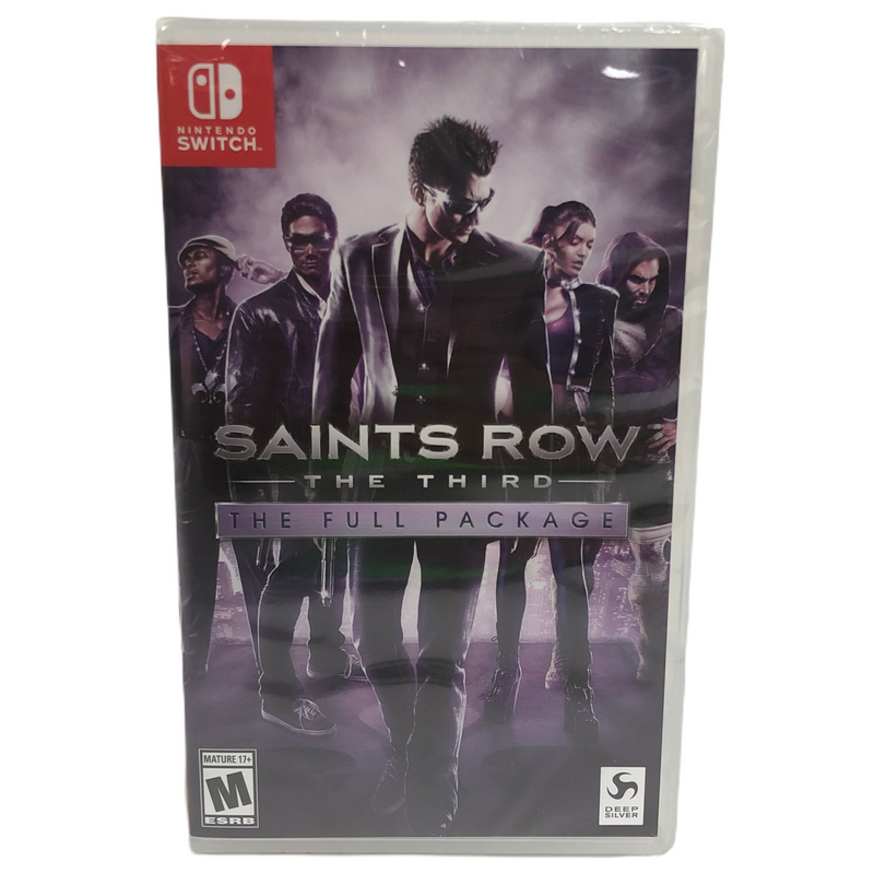 Saints Row The Third The Full Package Nintendo Switch