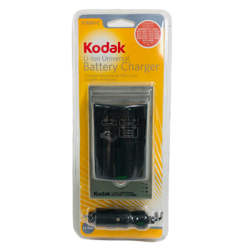 Kodak Li-Ion Universal Battery Charger K7600-C