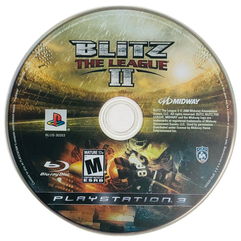 Blitz The League II 2 Sony Playstation 3 PS3