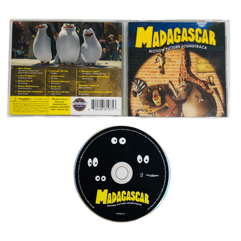 Madagascar Motion Picture Soundtrack CD