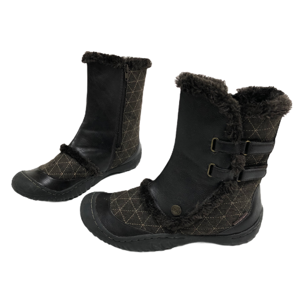 Jambu JBU Weather Ready Iceburg Faux Fur Line Zip Side Boots