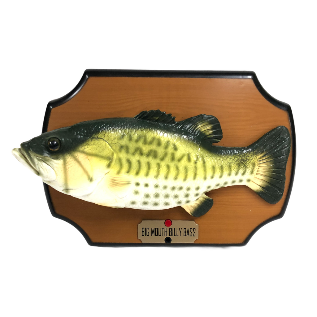 Big Mouth Billy Bass 1999 Singing Fish On Stand
