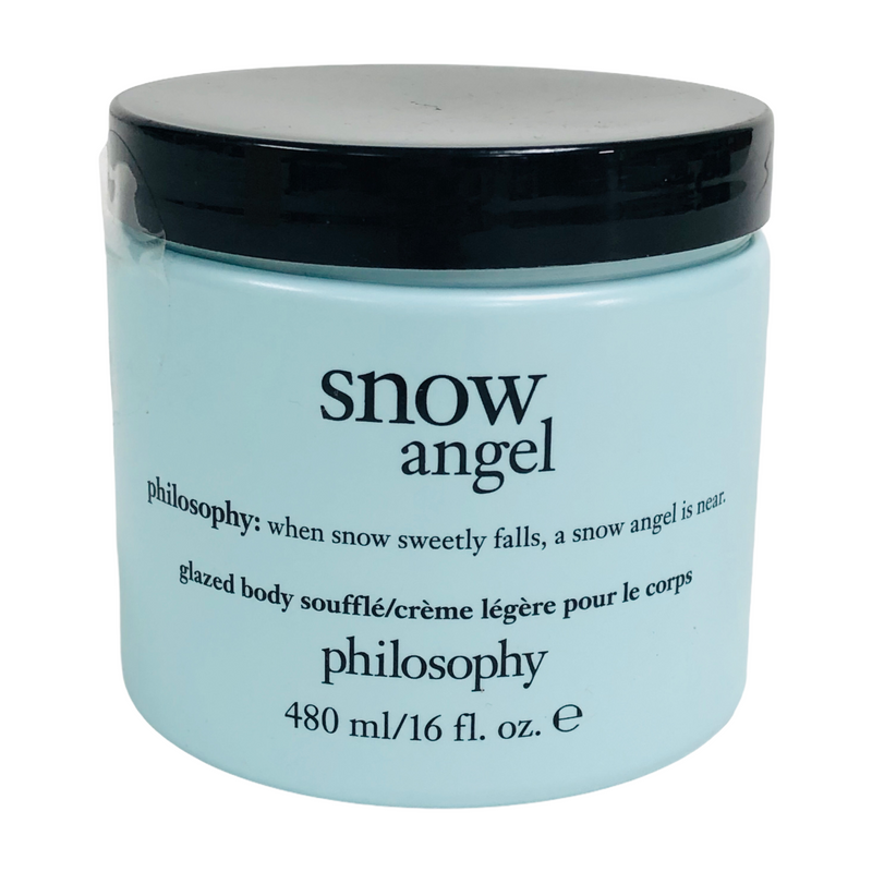 Philosophy Snow Angel 16 Fl. Oz. Glazed Body Souffle Creme Jar