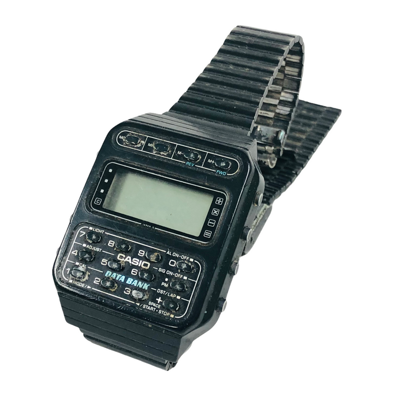 Casio Vintage Data Bank Watch CD-40