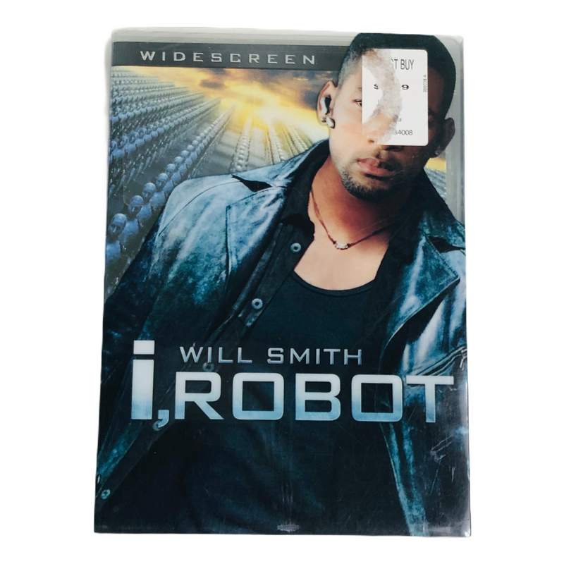 I Robot Will Smith Widescreen 2004 DVD