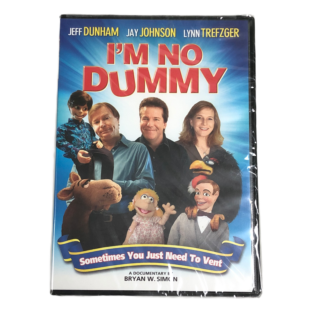 Im No Dummy Sometimes You Just Need To Vent Ventriloquism DVD