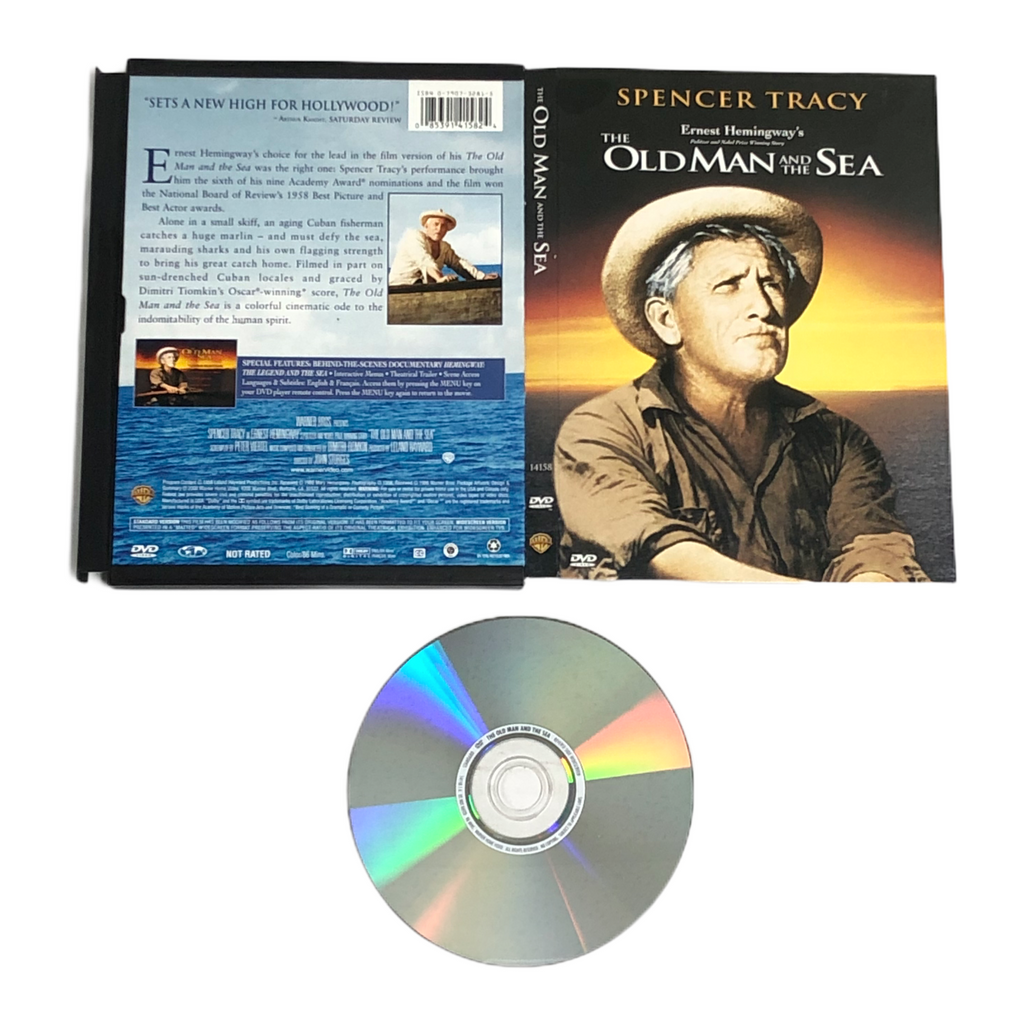 The Old Man And The Sea Ernest Hemingway Spencer Tracy 2000 DVD