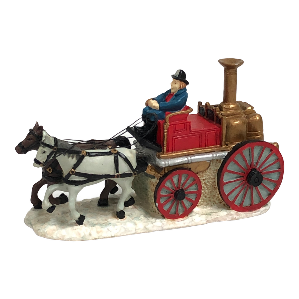 Flambro Joan Beta Victor Pleasantville 1893 Fire Engine Company No. 1 Figurine