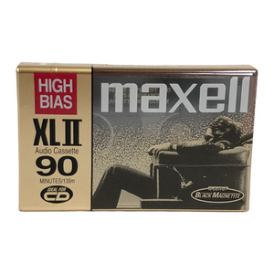 Maxell High Bias XL II 90 Minutes Blank Audio Cassette Tape