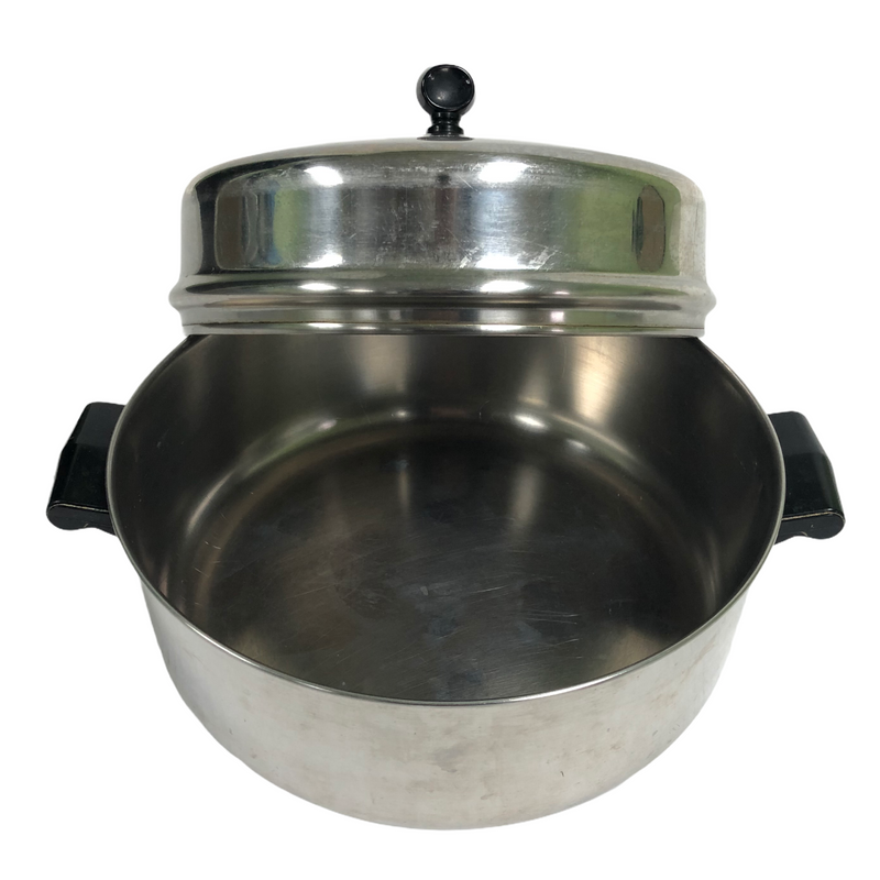 Farberware Aluminum Clad 5 Qt Stainless Steel Dutch Oven Stock Pot