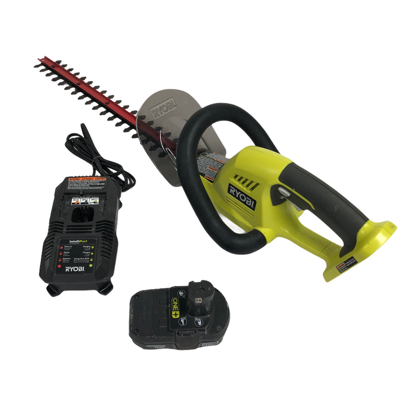 "Ryobi Cordless 18 V Battery Powered 22"" Hedge Trimmer"