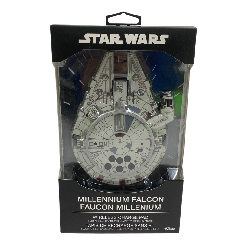 Star Wars Millennium Falcon Apple Samsung Smartphone Wireless Charge Pad