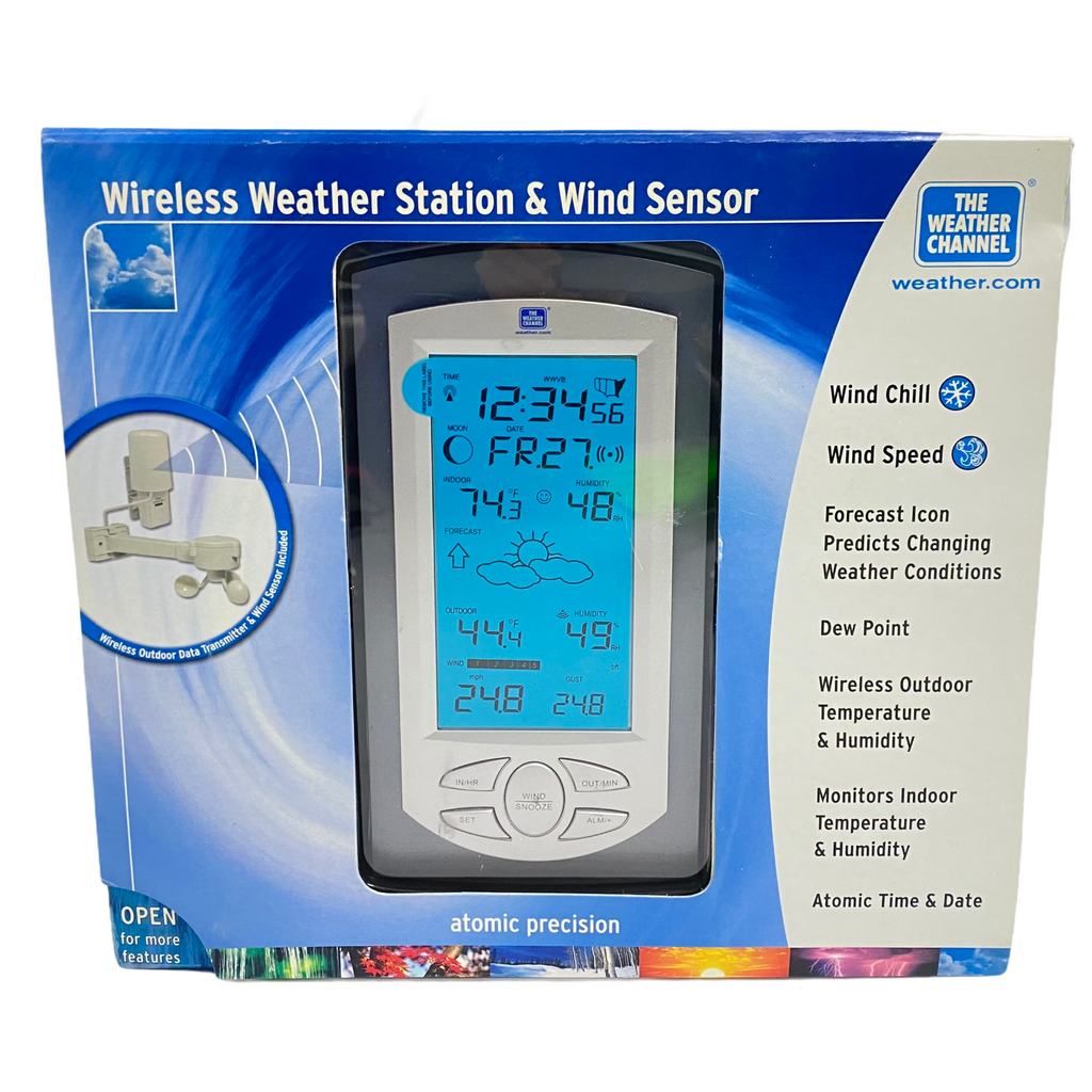 The Weather Channel Wireless Weather Station & Wind Sensor WS-9035TWC