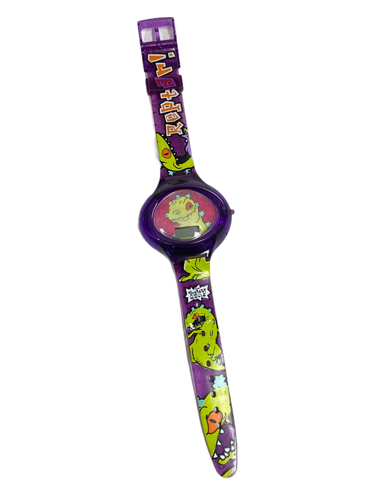 Reptar! The Rugrats Movie Burger King 1998 Wrist Watch - UNTESTED