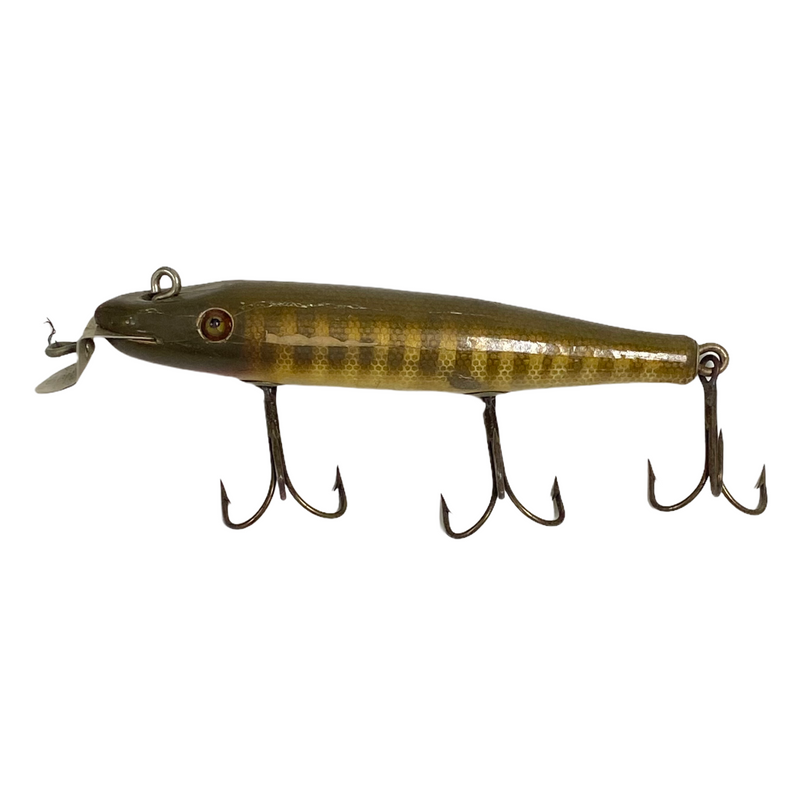 Creek Chub Bait CO CCBC Vintage Wooden Pikie Fishing Lure