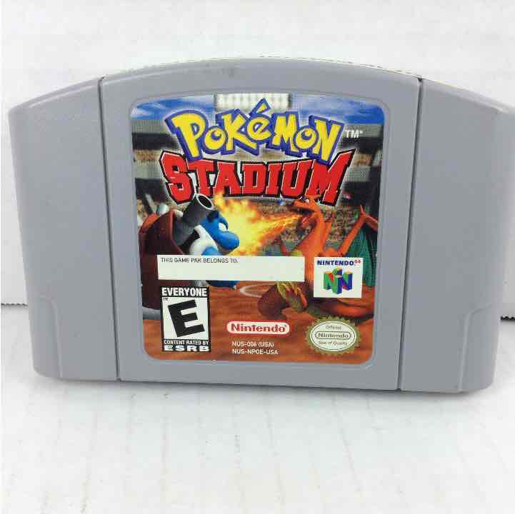 Pokemon Stadium Nintendo 64 N64 *Authentic*