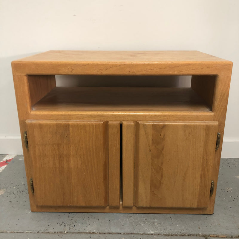 Workbench Collection Light Oak Night Stand