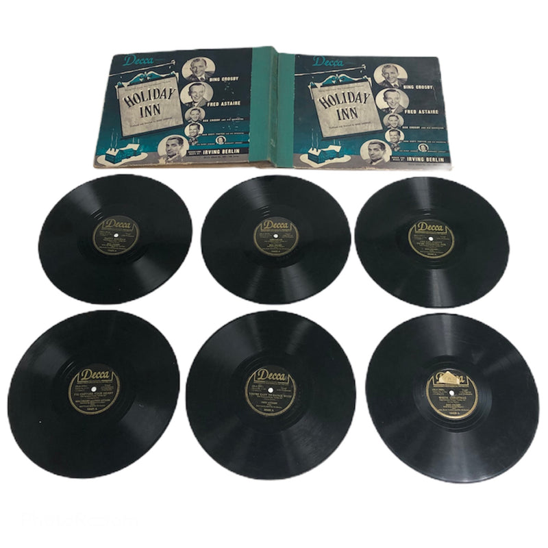 Decca Holiday Inn 6 Vinyl Record Album Set 306-18M Series