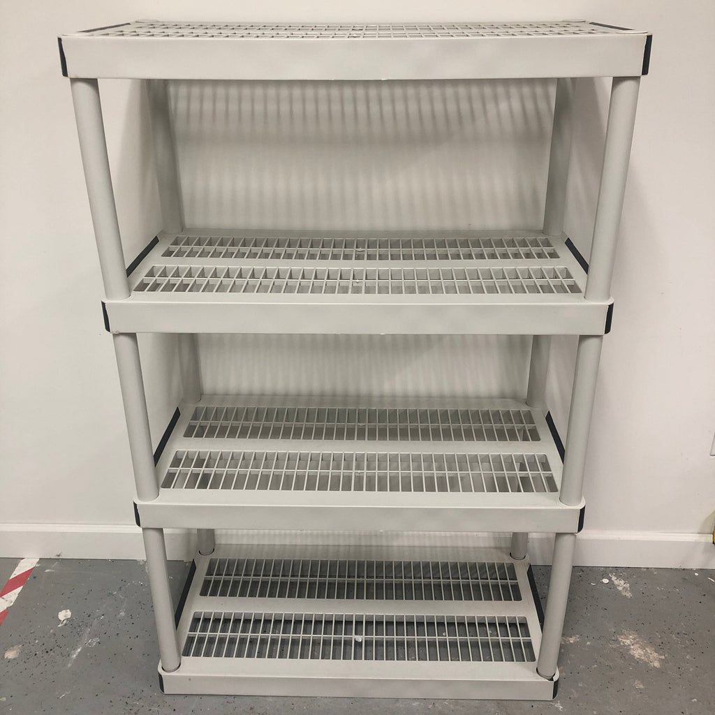 "Keter 4 Tier Heavy Duty 55"" Storage Shelf Rack"