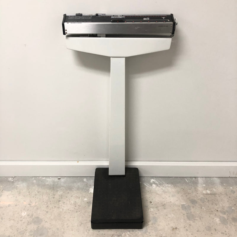 Health O Meter Zero Balance Adjustment 350 Pounds Doctors Scale