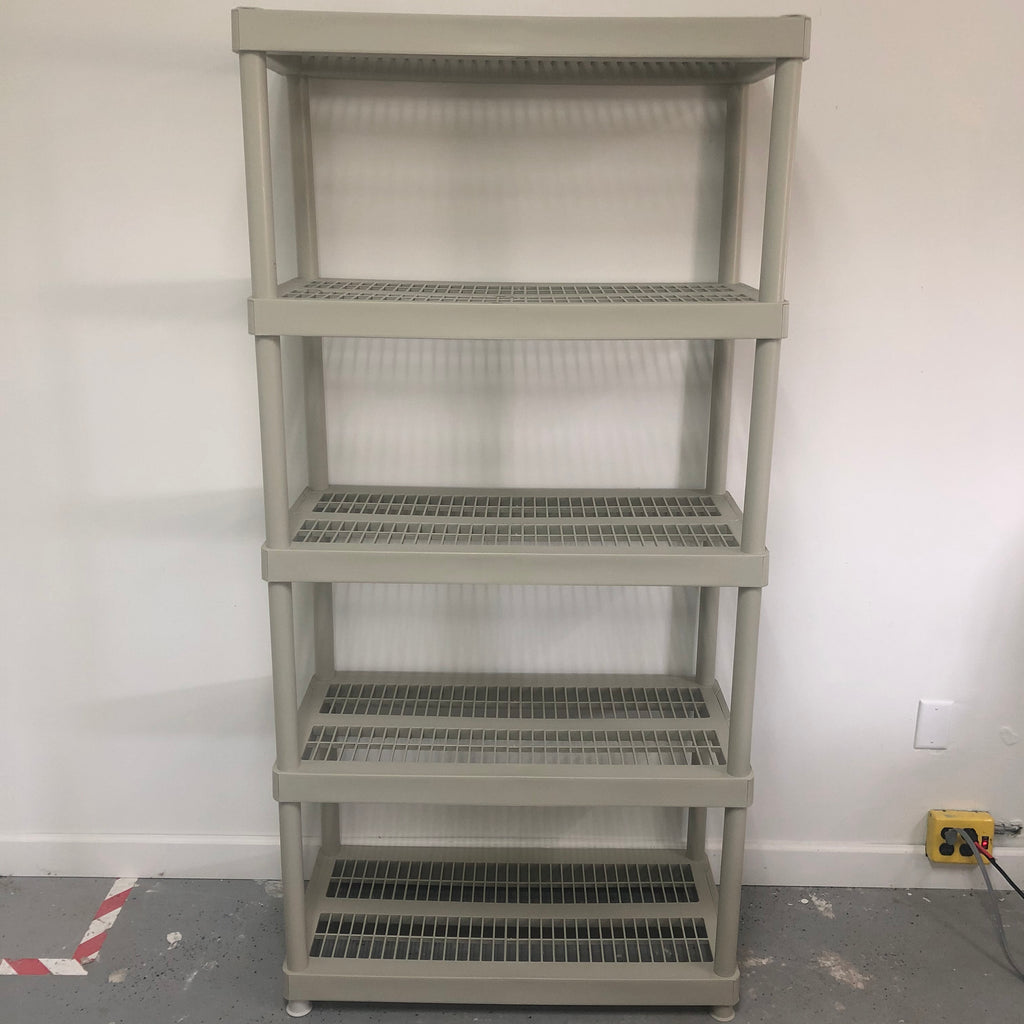 "Keter 5 Tier Heavy Duty 73"" Storage Shelf Rack"