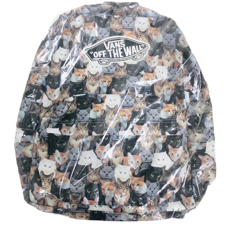 Vans Off The Wall Multi Cats ASPCA Backpack