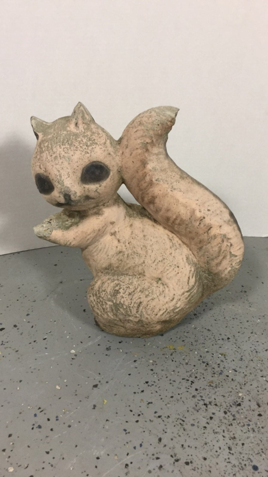 Outdoor Stone / Cement Squirrel Garden / Yard Statue Figure Decoration