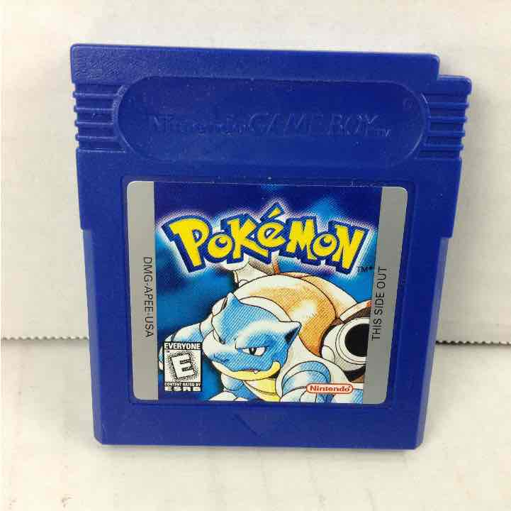 Pokemon Blue Version Nintendo Game Boy GB SAVES *AUTHENTIC*