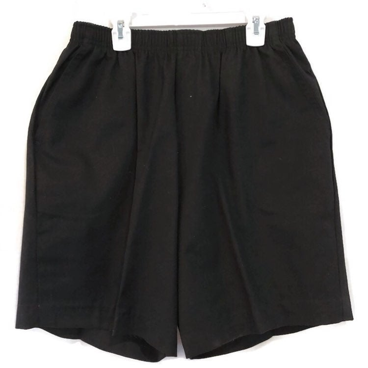 Cabin Creek Womens Elastic Waist Pockets Shorts