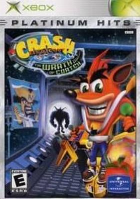 Crash Bandicoot The Wrath Of Cortex Platinum Hits Microsoft Xbox