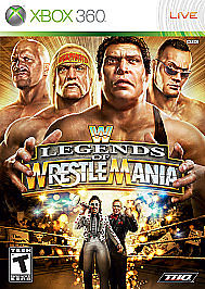 WWE Legends Of Wrestlemania Microsoft Xbox 360