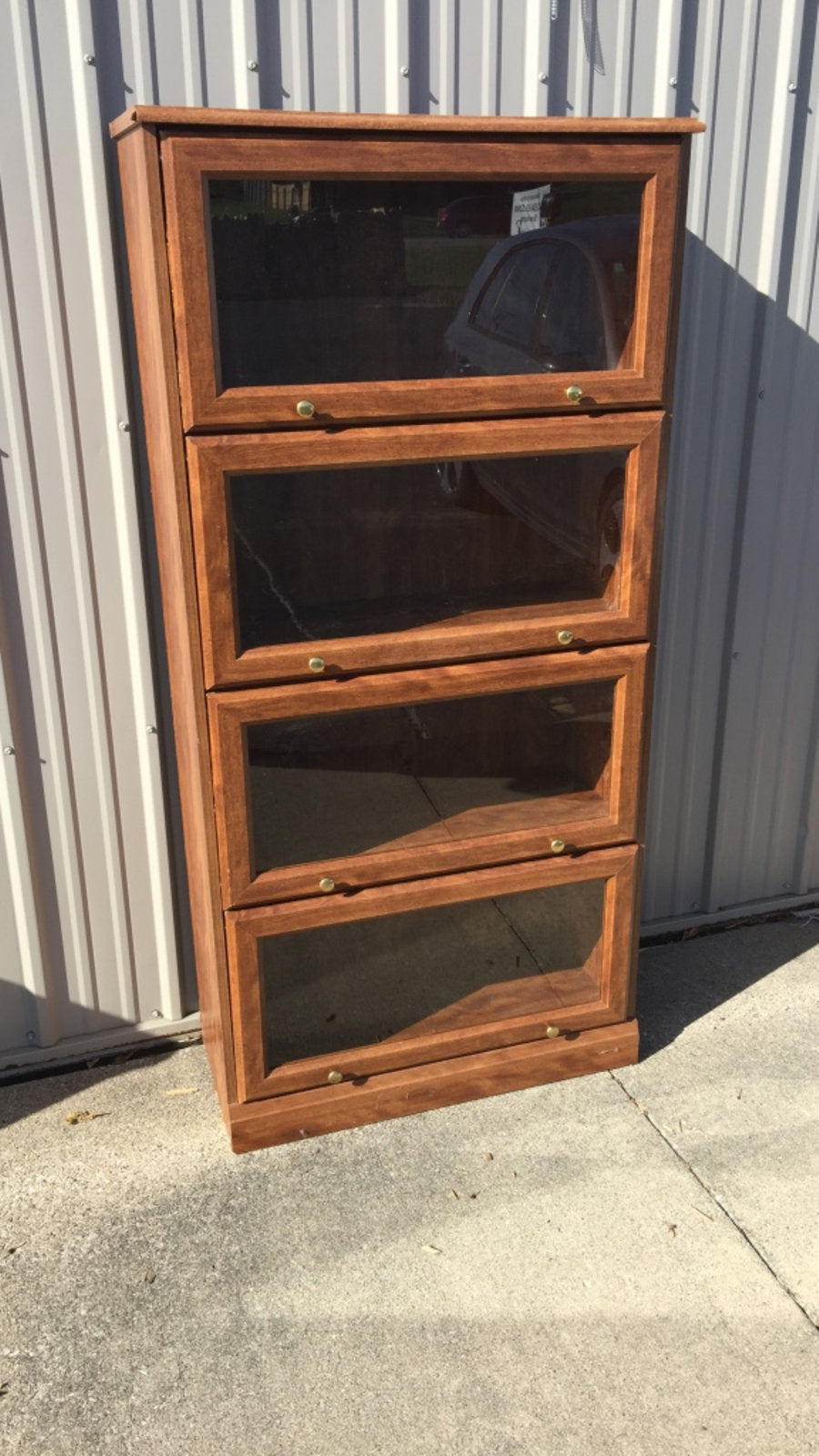 Glass Window Display Bookcase
