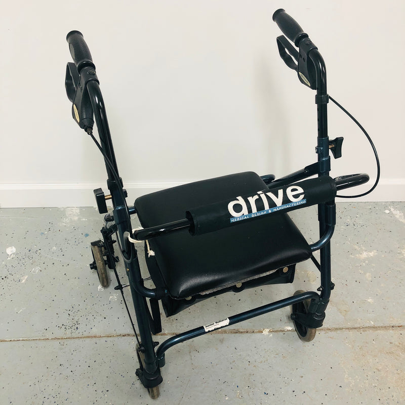 Drive Medical Junior Rollator Storage Seat Winnie Walker