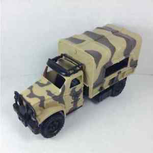 Chap Mei 2008 Soldier Force Military Army Troop Cargo Transport Camo Truck