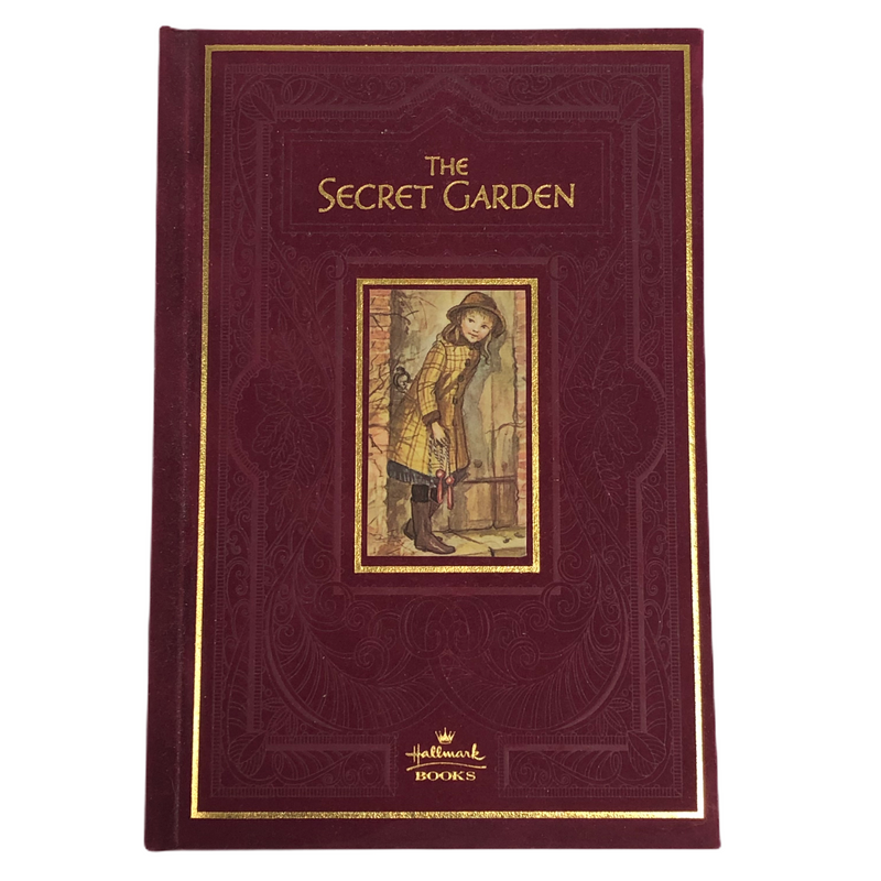 The Secret Garden Hallmark Books Red Velvet Hardcover Book