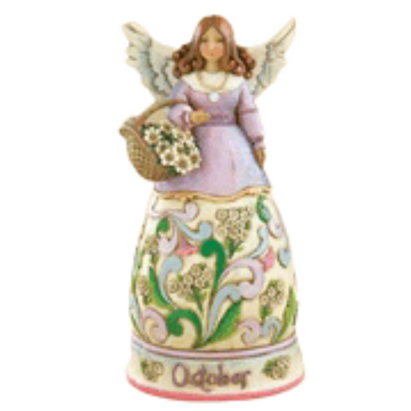 Jim Shore Heartwood Creek October Angel 2008 Figurine 4012559