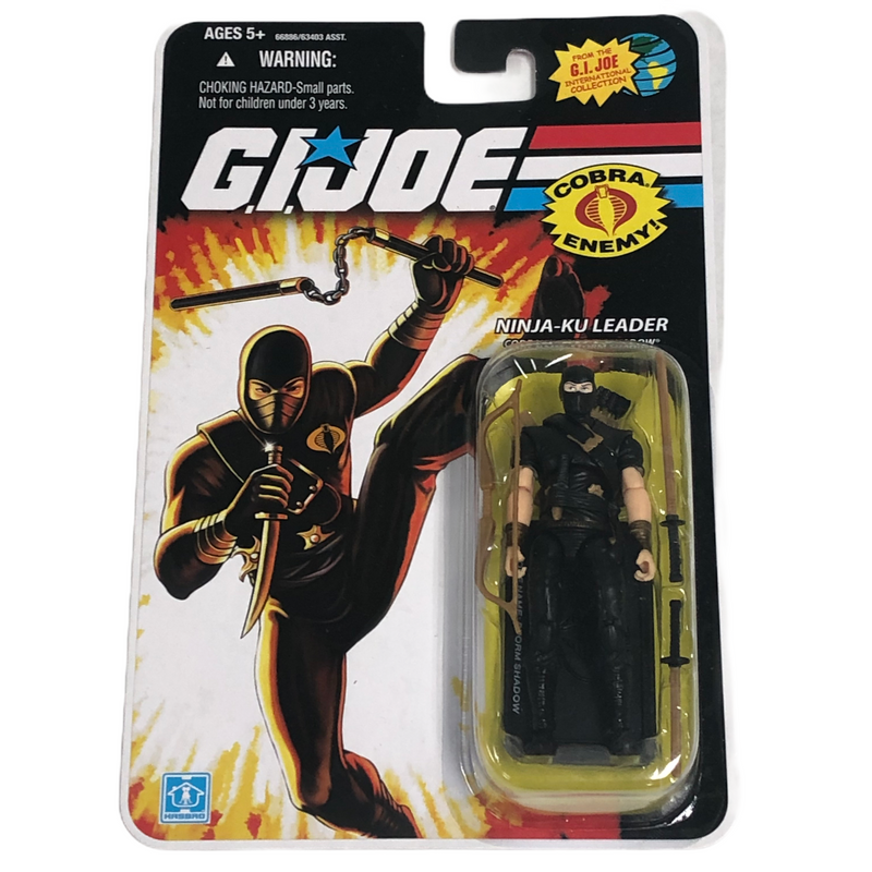 G.I. Joe Hasbro Ninja-Ku Leader Storm Shadow Action Figure