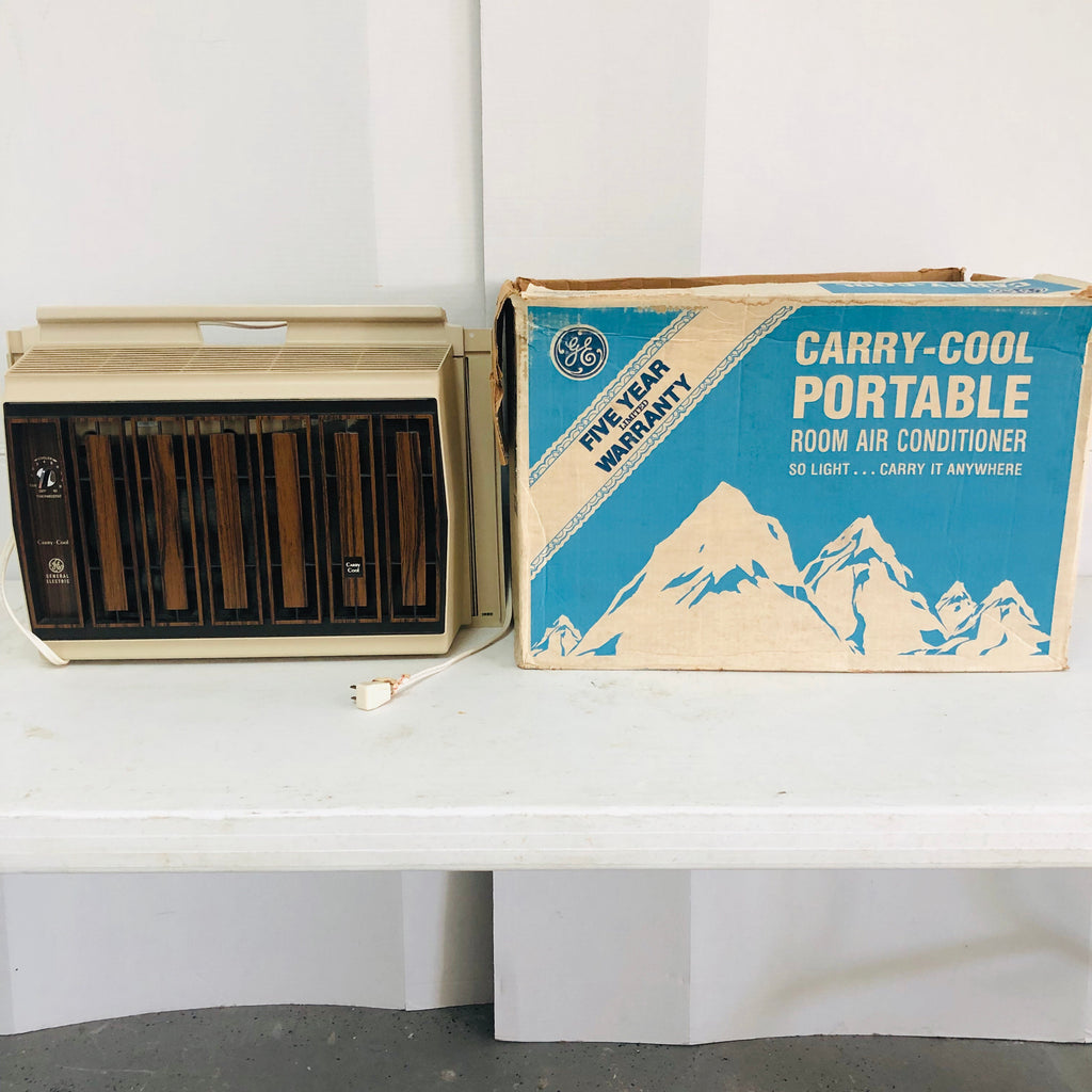 General Electric GE Carry Cool Portable Window Room Air Conditioner AC Unit
