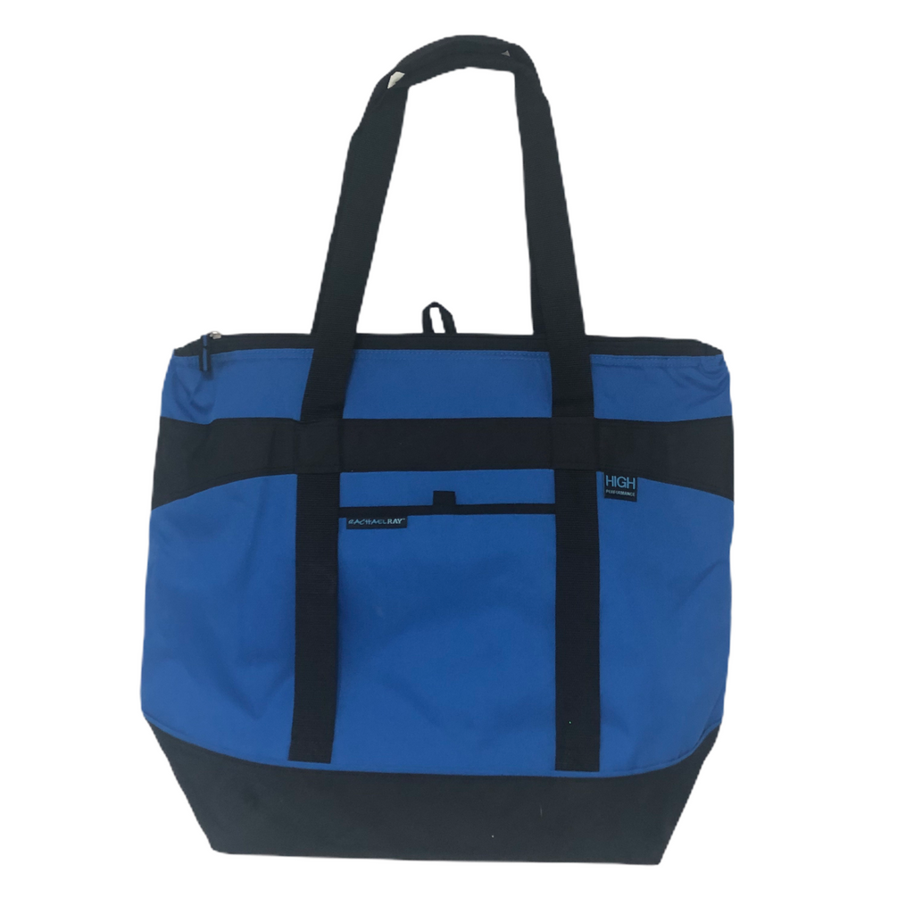 Rachel Ray High Performance Blue Large Insulated Thermal Carrier Tote Bag