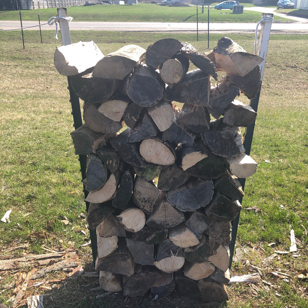 M15SALES Split Mixed Hardwood Firewood Stacks Sections