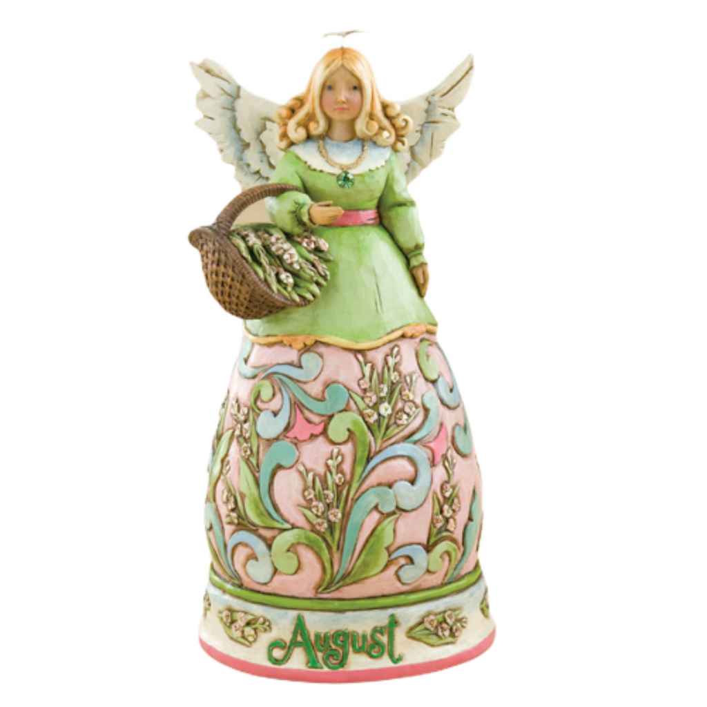 Jim Shore Heartwood Creek August Angel 2008 Figurine 4012557