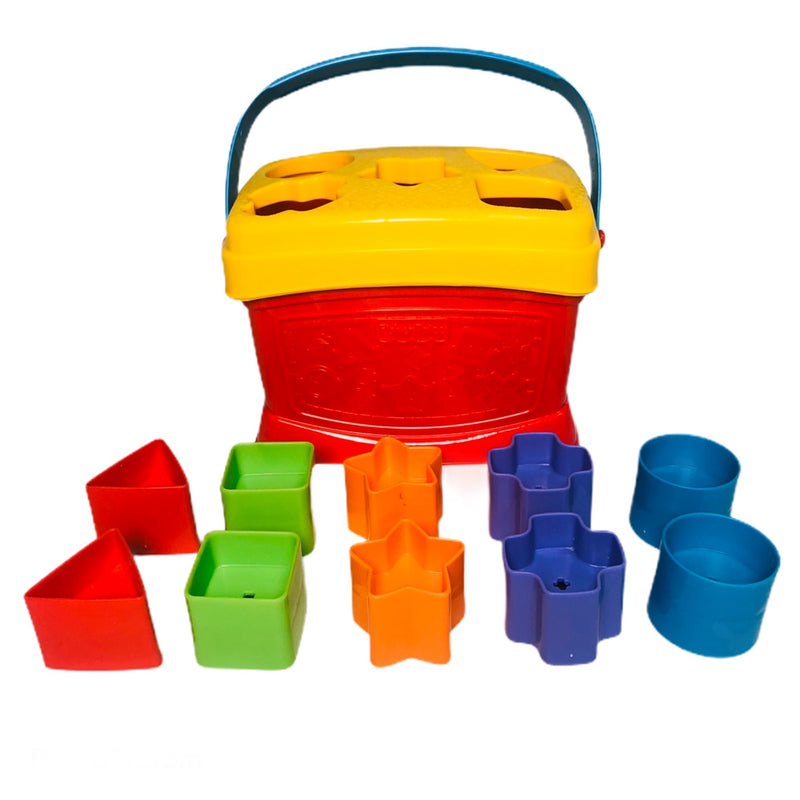 Fisher Price 10 Block Shape Sorter Container