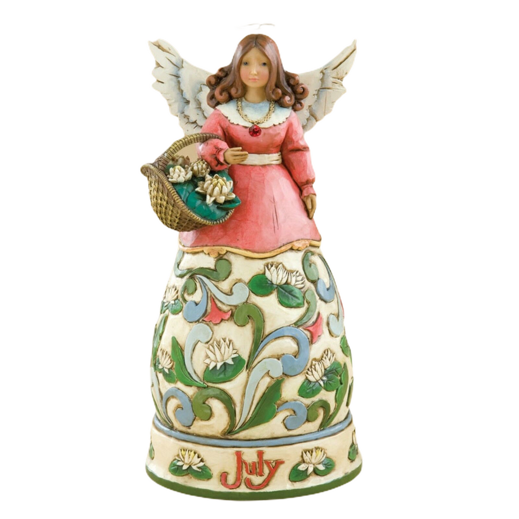 Jim Shore Heartwood Creek July Angel 2008 Figurine 4012556