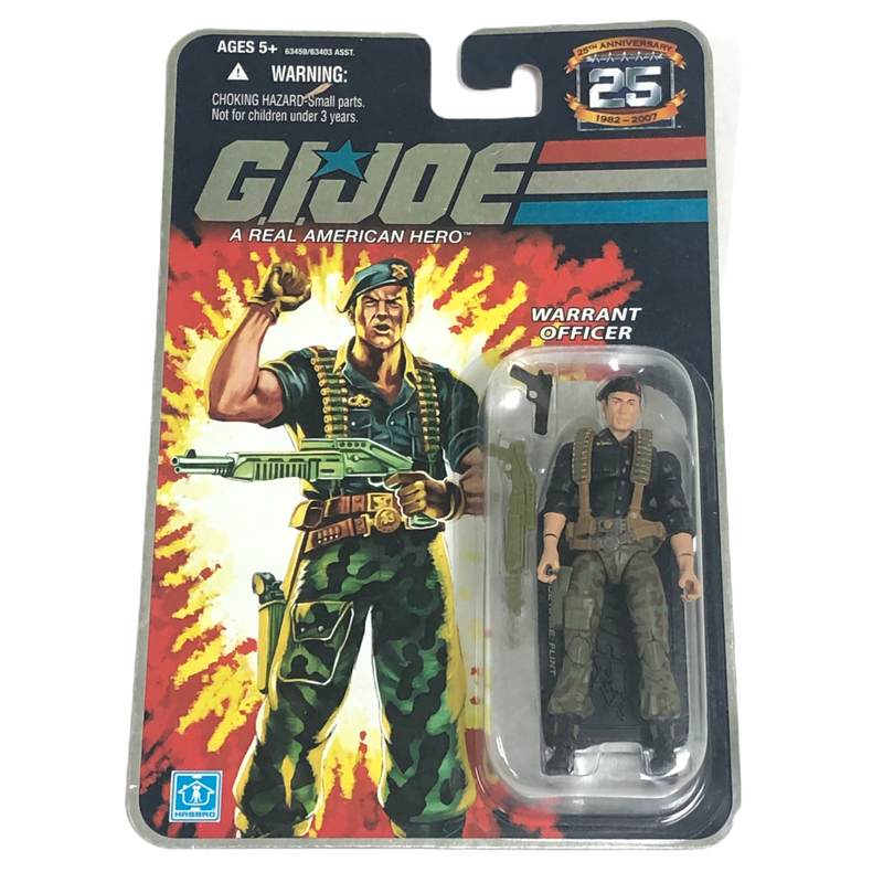 G.I. Joe Hasbro Warrant Officer Flint Action Figure