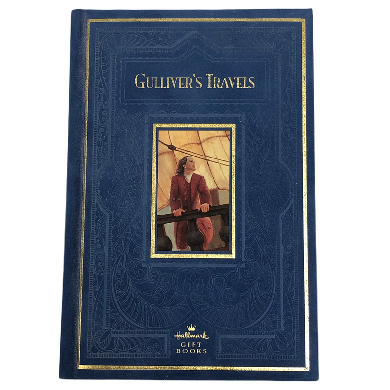 Gullivers Travels Hallmark Books Blue Vevelt Hardcover Book